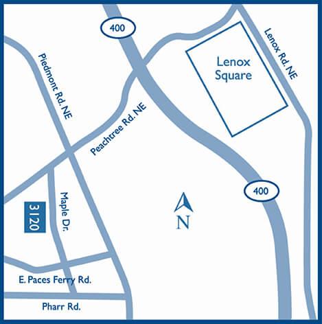 Buckhead Map